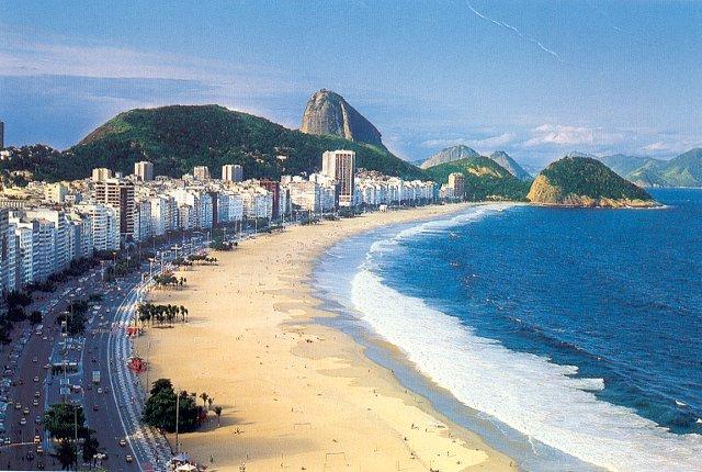 Copacabana Beach, Rio, Jerry Beaty, Dive Travel
